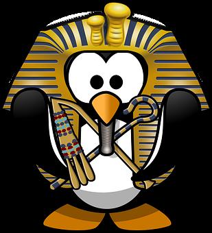 King Tut, Tut, Tutankhamun, Tux, Animal, Archaeology