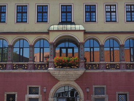 Facade, Home, Balcony, Window, Architecture, Building
