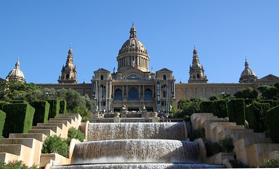 Museum, Historically, Architecture, Building, Barcelona