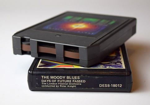 Tapes, Magnetic Tapes, Vintage, Audio, Moody Blues