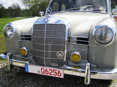 Auto, Oldtimer, Mercedes 190