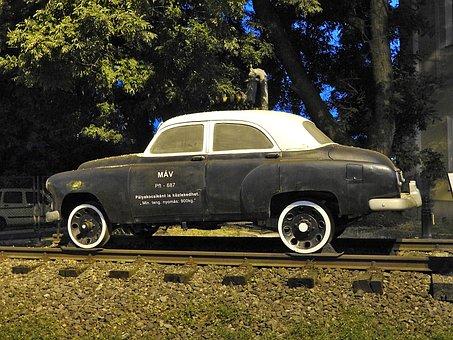 Rail Vehicle, Distance Company Car, Oldtimer, Auto