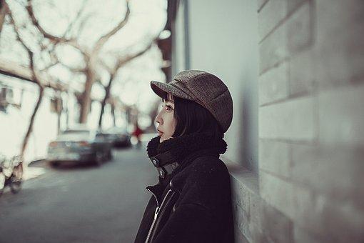 Woman, Model, Street, Beijing Beauty, Beauty