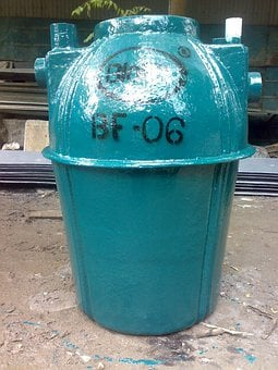 Septic Tank, Tank, Container, Biotech, Metal