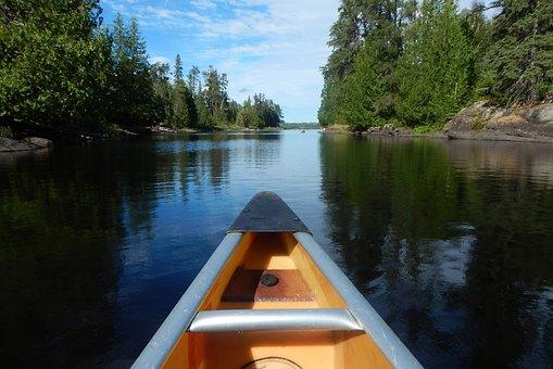 Bwca, Canoe, Minnesota, Woods, Lake, Wilderness