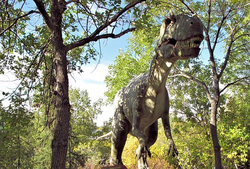 Dinosaur, Dinosaur Park, Calgary Zoo, Alberta, Canada