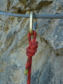 Carbine, Mounted, Wire Rope, Backup, Rope, Security