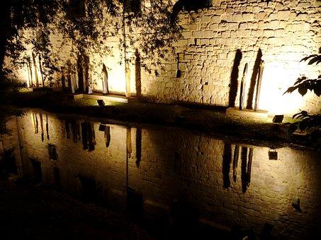 Castle, Bad Vilbel, Mirroring