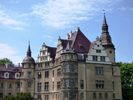 Castle, The Palace, Scrotum, Poland, Monument, Towers