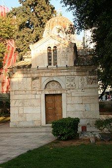 Athens, Greece, Church, Architecture, Ancient, Landmark