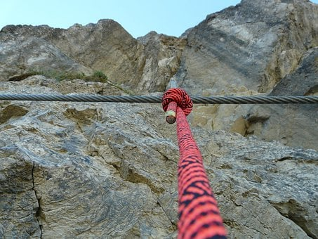 Wire Rope, Backup, Rope, Security, Bergsport, Climbing