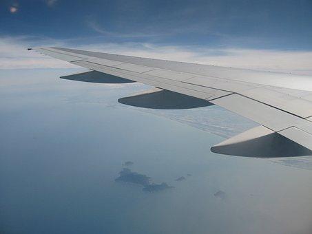 Cloud, Air Show, Contrails, Public, Wing, Aviation