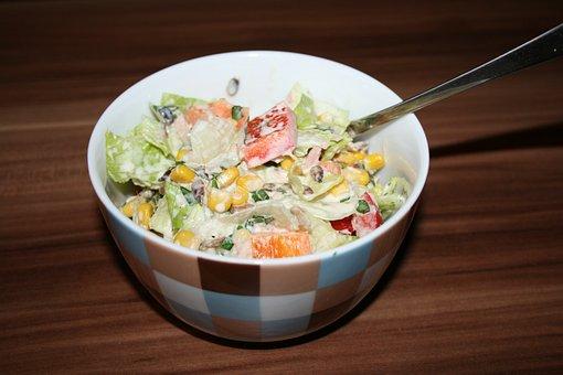 Salad, Colorful, Spring, Delicious, Healthy, Vitamins