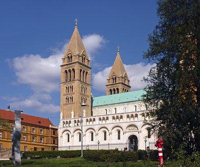 Pécs, Five Churches, Dom, Towers, City, Church, Hungary