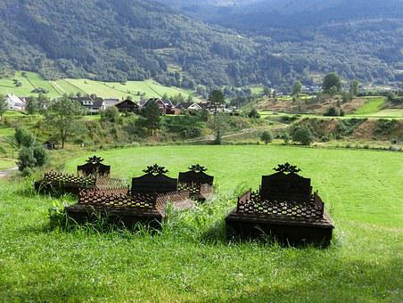 Cemetery, Graves, Old, Historically, Nature, Mountains
