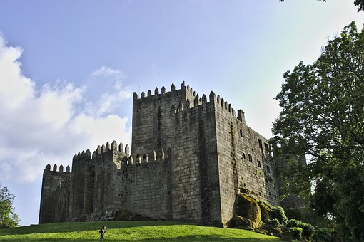 Castle Of Sao Manede, Castle, Guimarães, Portugal