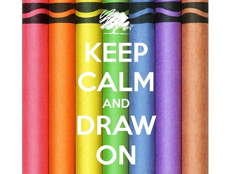 Keep Calm, Draw, Pencils, Colorful, Colouring Pencils