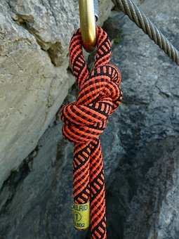Eighth Node, Roller Coaster, Carbine, Knot, Wire Rope