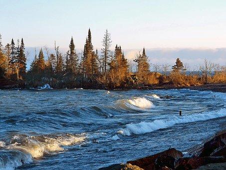 Lake Superior, Artist Point, Grand Marais, Minnesota