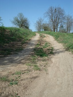 Dirt Road, Road, Rural, Field Path, Farm Track