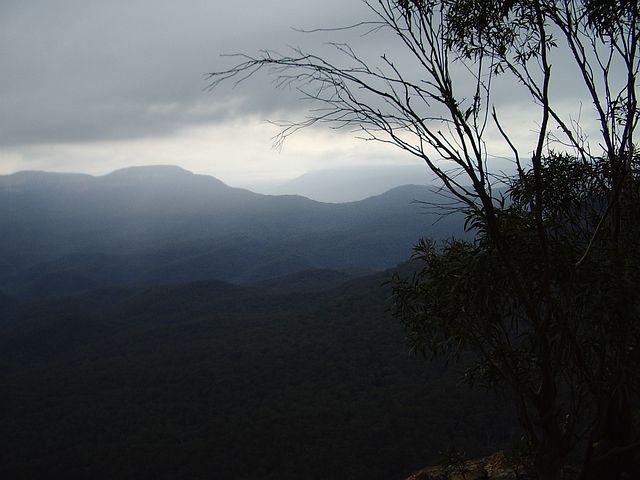 Blue, Mountains, Scenery, Romantic, Landscape, Dreamy