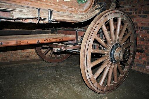 Wagon Wheel, Wheel, Round, Wood, Spokes, Sturdy