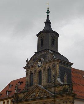 Bayreuth, Hospital Church, Church, Steeple