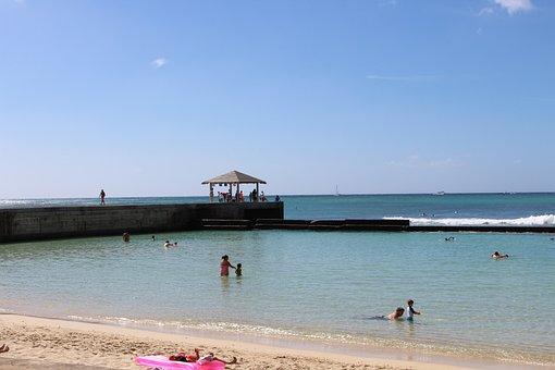 Sea, Beach, Shirahama, Sandy, Summer, Blue Sky