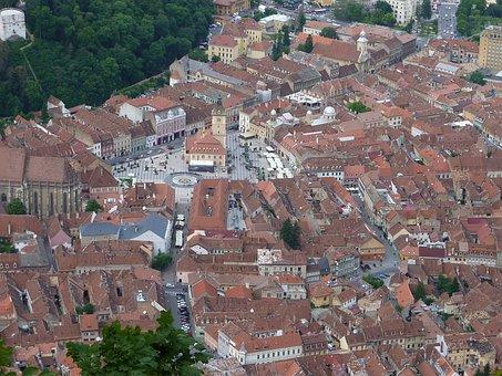Brasov, City, Transylvania, Romania, Old, Town