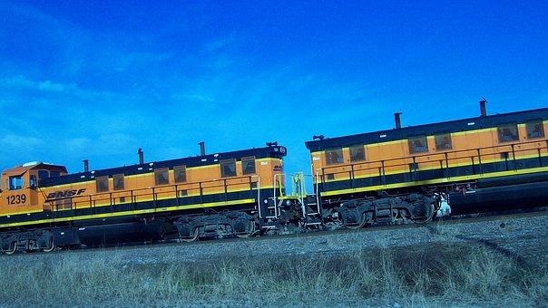 Trains, Rail, Tracks, Transportation, Railway