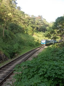 Train, Rail, Railway, Transport, Travel, Track