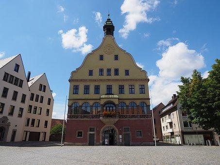 Gallwitz, Ulm, Facade, Home, Balcony, Window