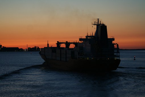 Ship, Container, Shipping, Water, Transport, Boot
