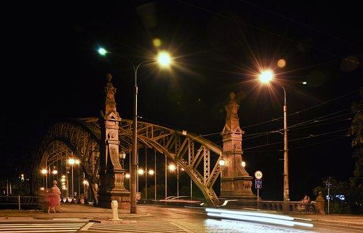Zwierzyniecki Bridge, Wrocław, City, Architecture