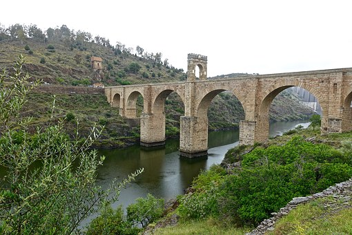 Bridge, Alcantara, Roman, Historic, Landmark, Heritage