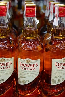 Whisky, Drink, Alcohol, Bottles, Alcoholic