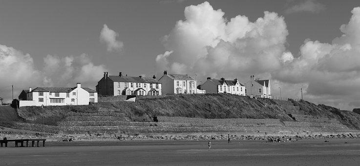 Coast, Seascale, Beach, Sea, Sand, Sky, Vacation