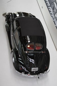 Autostadt Wolfenburg, Vw, Beetle, Black, Vw Beetle