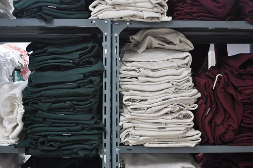 Closet, Increase, Clothing Factory, Stock, Industry