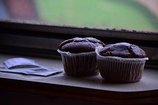 Chocolate, Muffin, Desserts, Travel, Train, Pair
