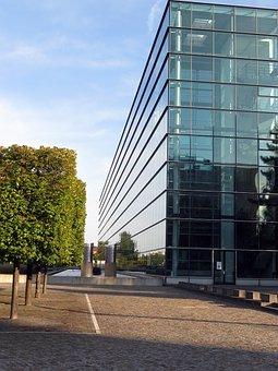Dresden, City, Transparent Factory, Vw, Production