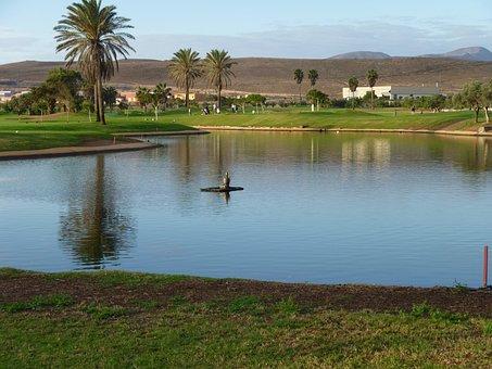 Fuerteventura, Landscape, Canary, Mountain, Island