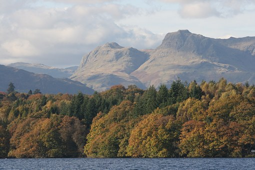 Lake District, Langdale Pikes, Cumbria, Scenic, Hills