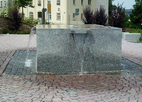 Lengenfeld, Ore Mountains, Water Feature, Well Water