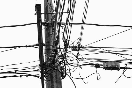 Wires, Lines, Electricity, Equipment, Electrical, Power