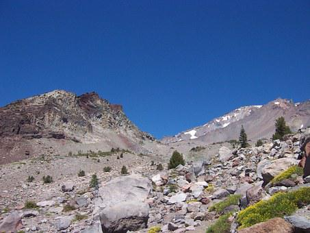 Mount Shasta, Peak, Mountain, California, Volcano