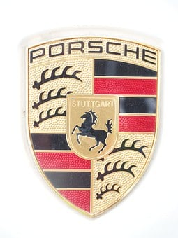 Porsche, Porsche Coat Of Arms, Coat Of Arms, Brand
