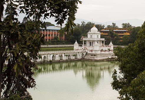 Water, Monument, Rani Pokhari, Monuments, Architecture