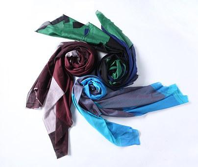Scarf, Color, Red, Green, Blue, Rotate