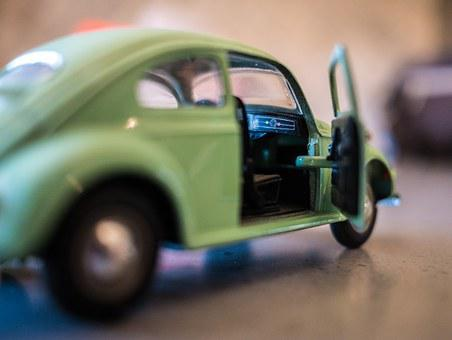 Car, Beetle, Volkswagen, Toy, Vehicle, Old, Retro, Vw
